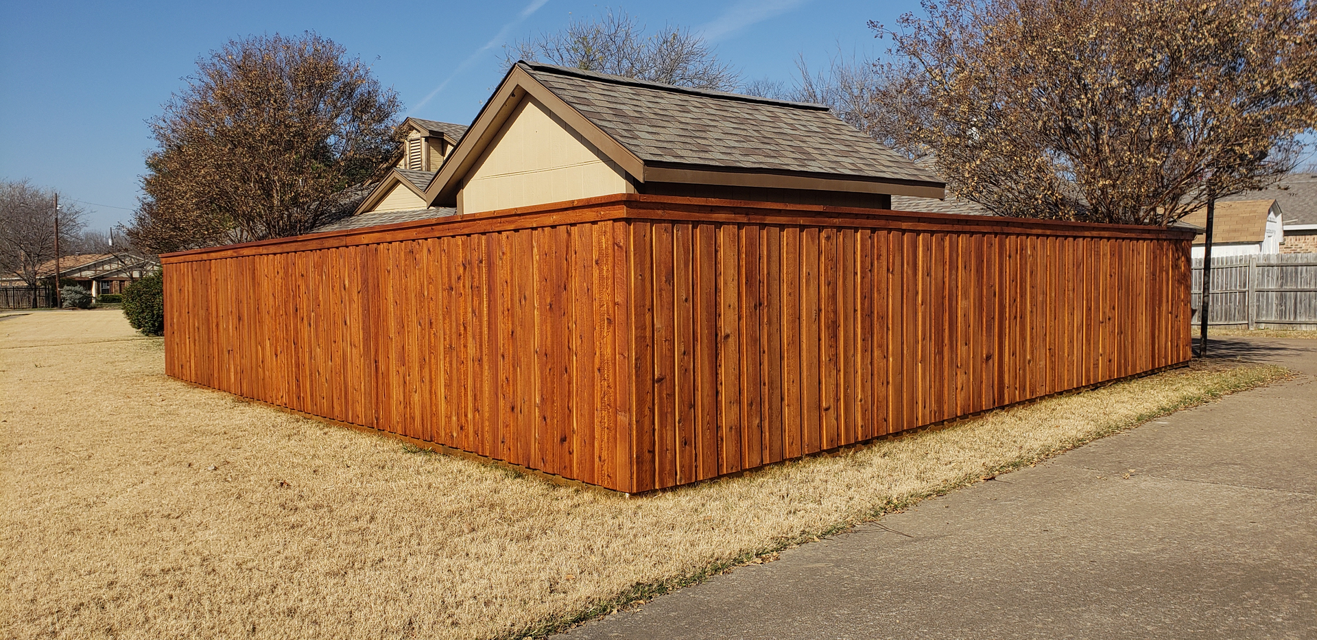 Let us help you with your wood fence ideas