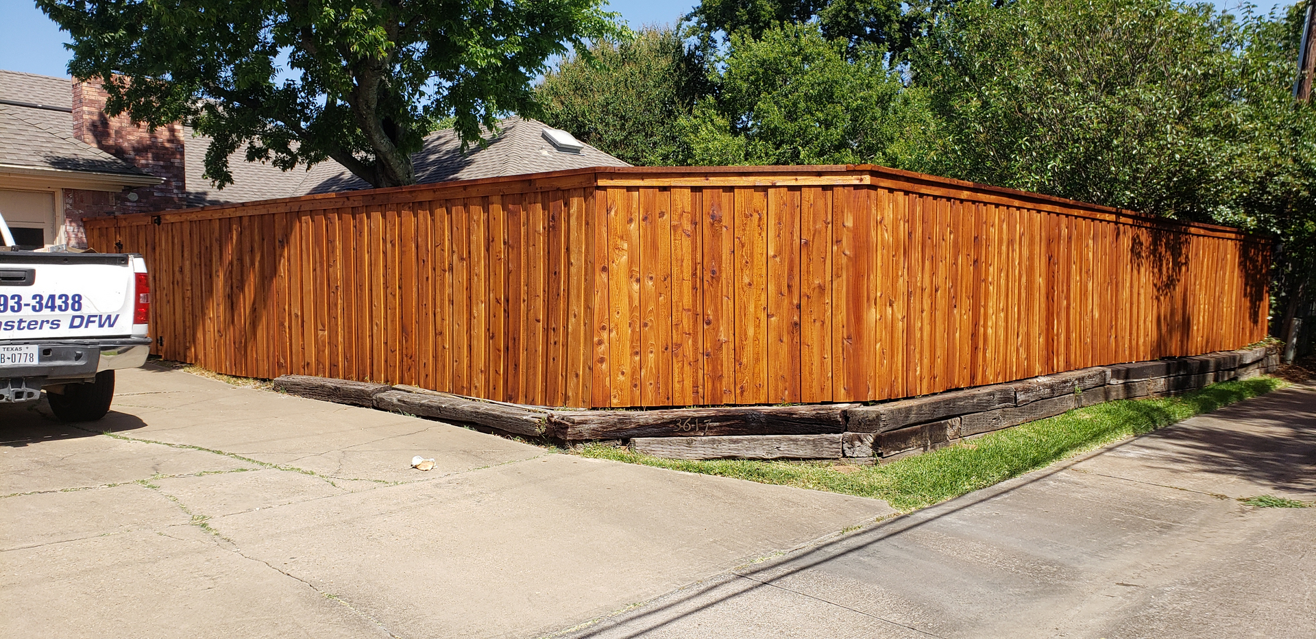 New wood fence treatment extends the life of your fence